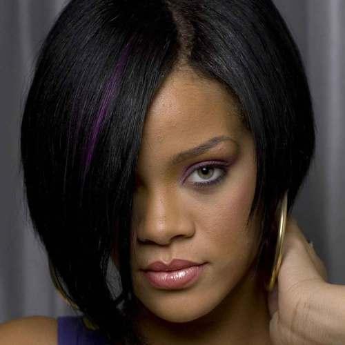 Rihanna Weave Hair Style